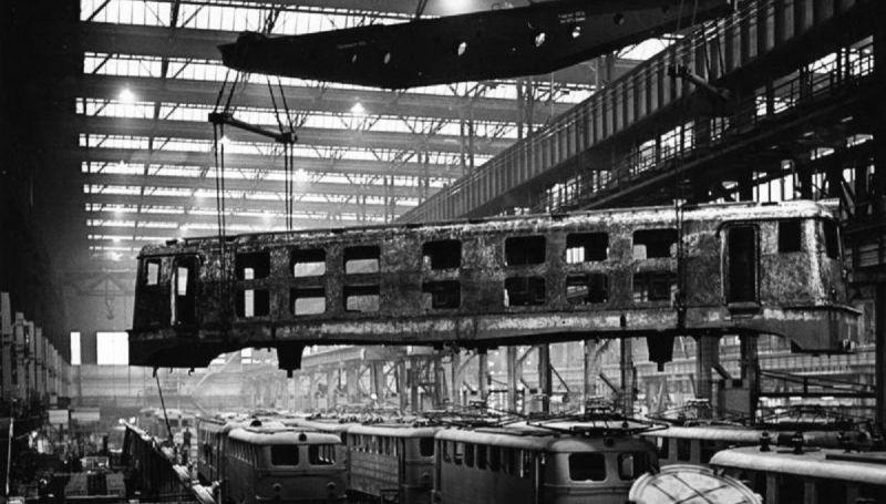 Krupp locomotive  plant