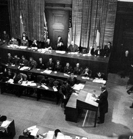 """US-Ankläger Sidney Alderman präsentierte dem Gericht den Plan """"Barbarossa"""""""
