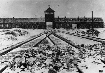 Nazilager Auschwitz, Polen 1945.