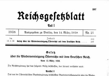 Veröffentlichung des Gesetzes im Reichsgesetzblatt