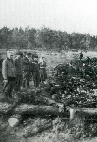 Le cimetière du camp de la mort dans lequel sont morts des habitants des régions de Leningrad et de Pskov, Archives centrales du Service fédéral de la Sécurité de la Fédération de Russie