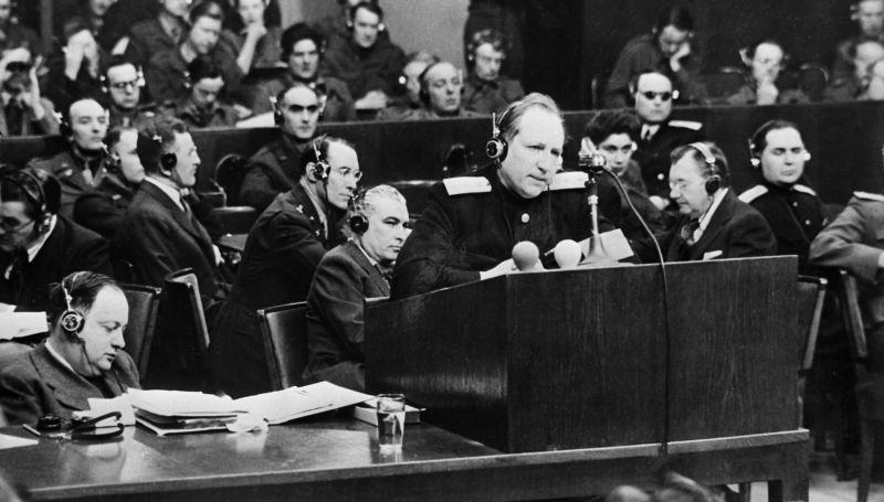 Roman Andreïevich Roudenko, procureur général de l'Union soviétique à Nurember