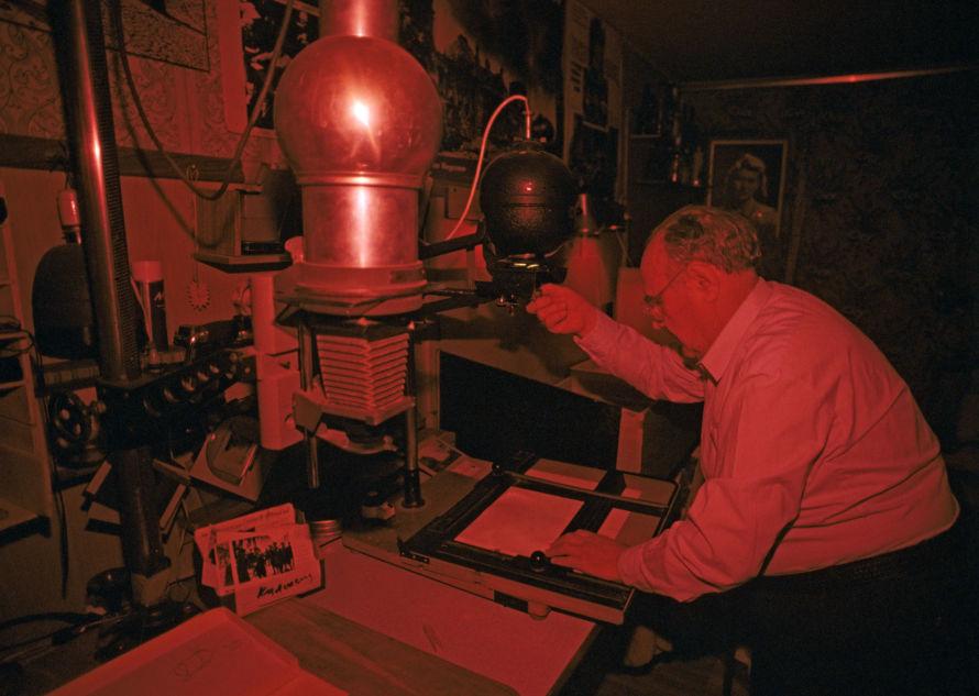 Soviet photographer Yevgeny Khaldei