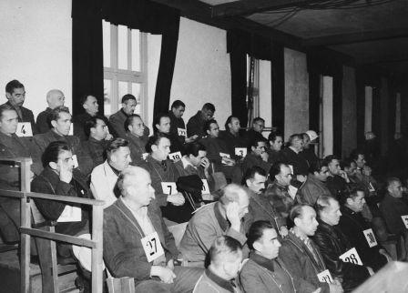 American Military Tribunal Sentences 36 Dachau Guards to Death