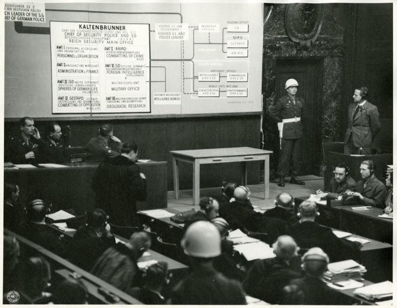 Nürnberger Prozess gegen die Hauptkriegsverbrecher, 1946