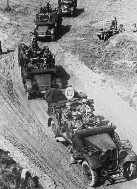 Am 1. September 1939 begannen deutsche Truppen ohne Kriegserklärung mit der Offensive entlang der gesamten polnischen Grenze (Archivbild)