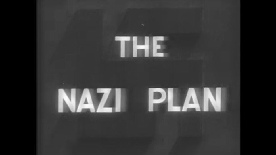 Le film «Le plan nazi» / United States Holocaust Memorial Museum