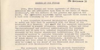 Decree of the Führer, 1 March 1942