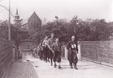 Membres du mouvement de la Résistance norvégienne Milorg, 11 mai 1945