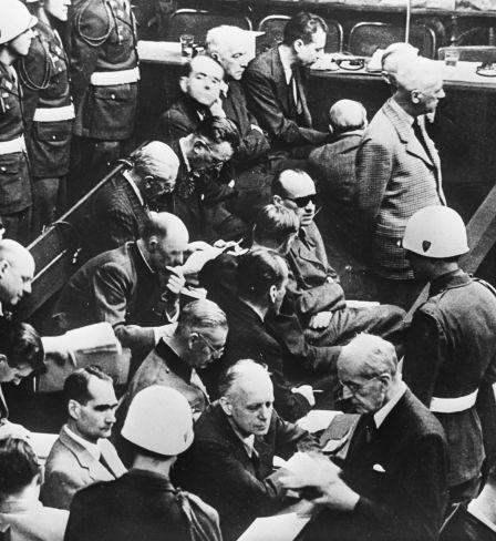 Nürnberger Prozesse, die Angeklagten