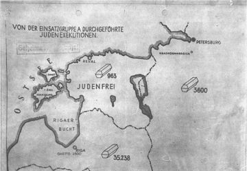 Beginning of the Holocaust in Occupied Territories of USSR