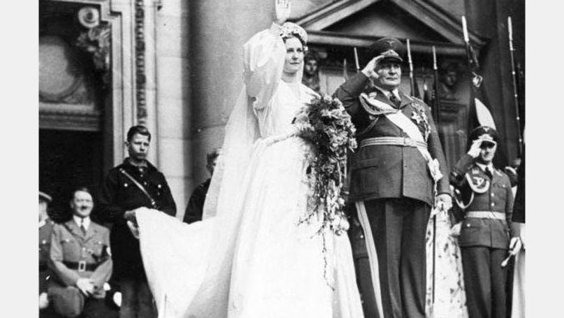 Le mariage d'Hermann et d'Emmy Göring, le 10 avril 1935 Bundesarchiv, B 145 Bild-F051618-0010 / Schaack, Lothar / CC-BY-SA 3.0
