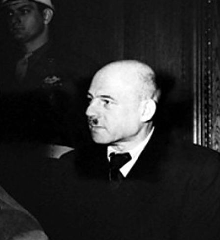 Fritz Sauckel vor Gericht