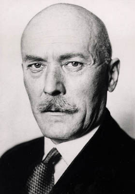 Friedrich-Werner von der Schulenburg (1875 – 1944) German ambassador in Russia