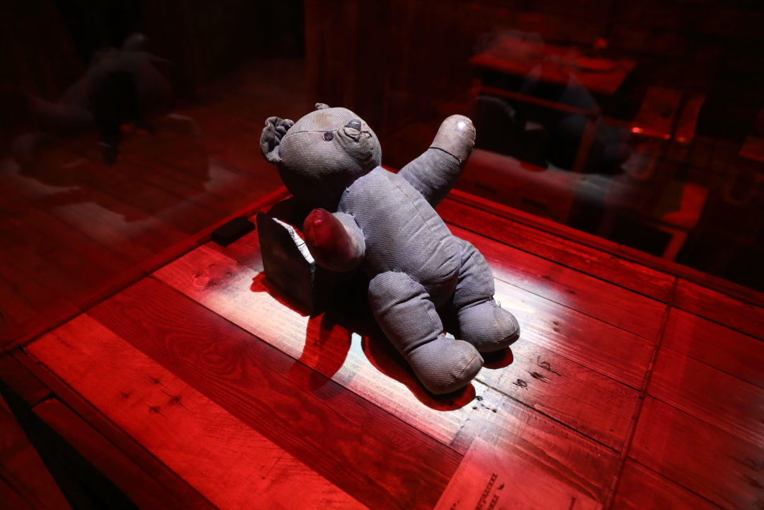 """A children's toy. A piece of the exposition """"No measure, no name, no comparison"""" from collections of the State Memorial Museum of Leningrad Defence and Siege © Photo by Dmitri Alekseev"""
