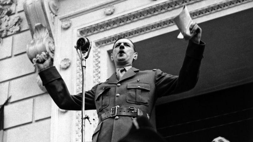 General Charles de Gaulle in Algeria, 1941. © AP Photo