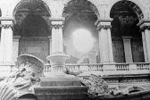 L'Ermitage après les bombardements, Leningrad, le 1er janvier 1944