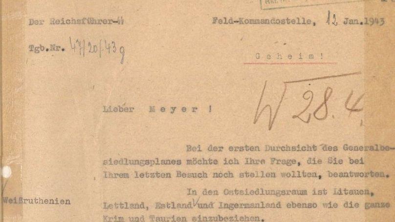 Bundesarchiv NS 19/1739