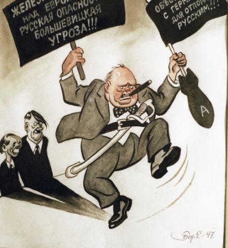 «Intervention à Fulton», caricature de l'artiste Boris Efimov