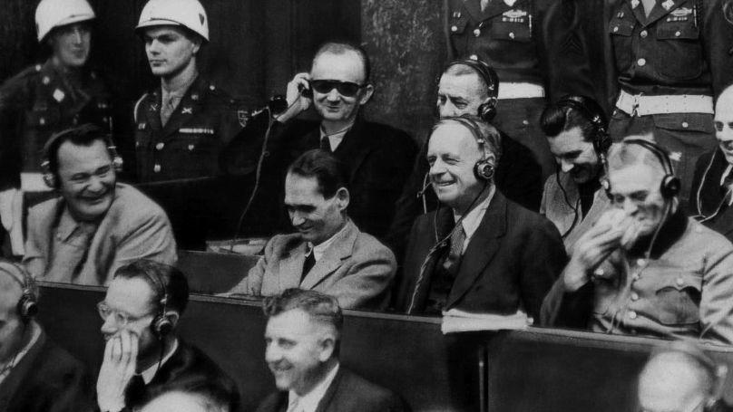 Des criminels nazis sur le banc des accusés à Nuremberg
