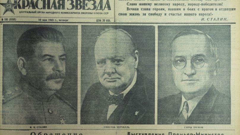 Le journal Krasnaïa Zvezda du 10 mai 1945