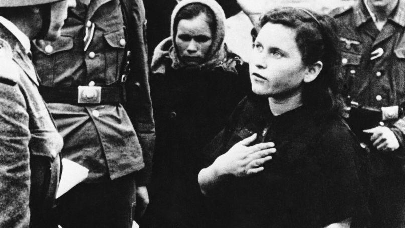 Résidents de Novorossiisk, occupé par les Allemands, juin 1943