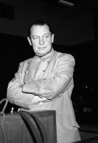 Hermann Göring lors du procès de Nuremberg, le 20 février 1946.