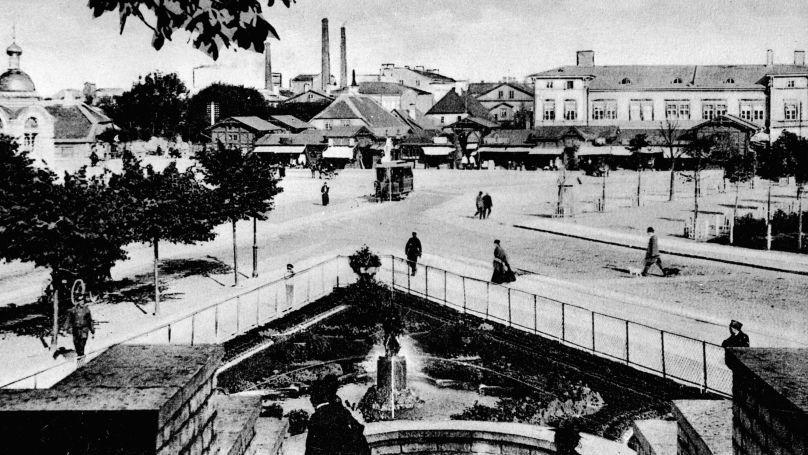 Le bazar russe à Rével estonienne (actuelle Tallinn)