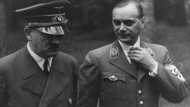 Adolf Hitler et Alfred Rosenberg