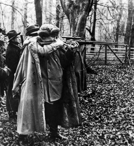 Hermann Göring auf dem Jagd bei Hannover, 1935