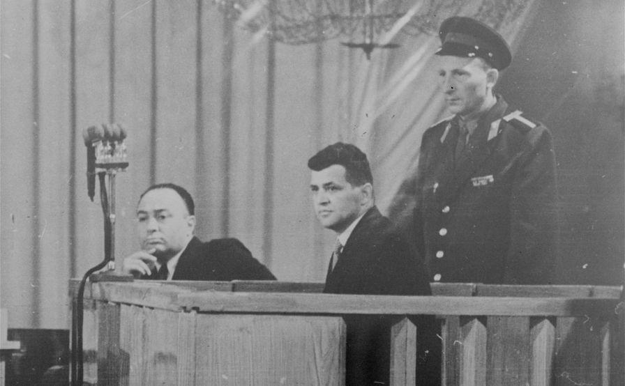 Ouverture du procès dans l'affaire du pilote de l'avion de reconnaissance américain U-2 Francis Gary Powers à Moscou, le 17 août 1960.