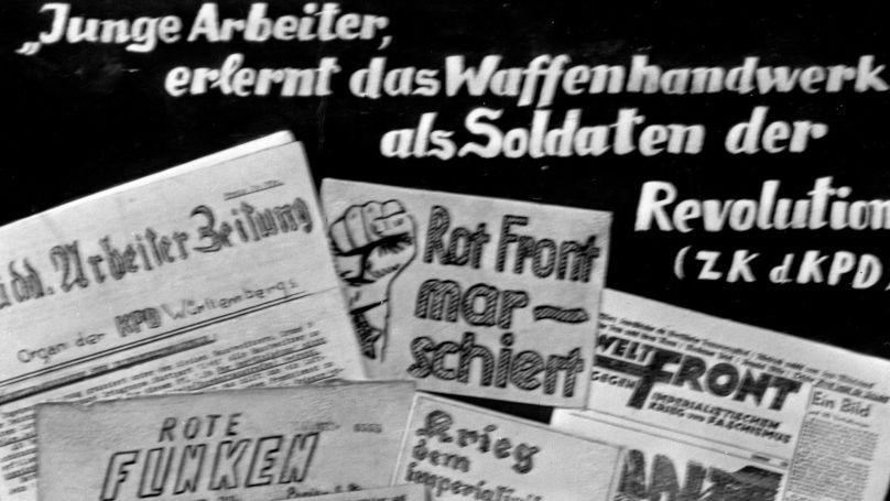 Journaux et tracts illégaux publiés par le Parti communiste allemand en 1933-1935