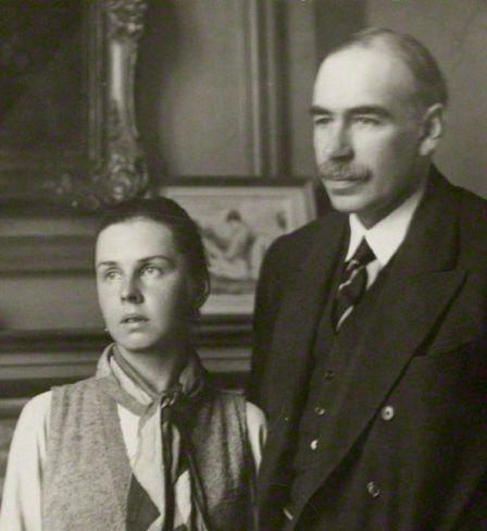 John Maynard Keynes et Lydia Lopokova