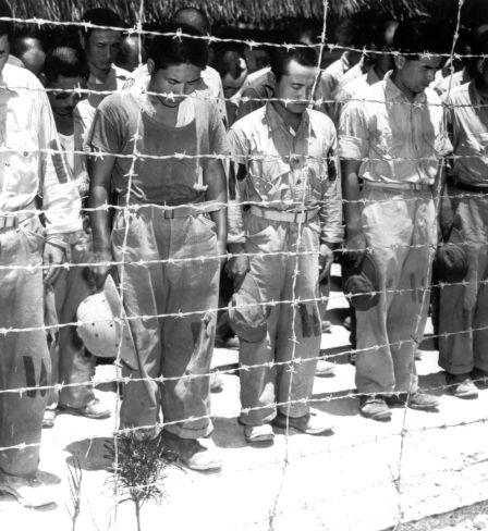 Janpanische Kriegsgefangene