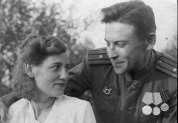 Mikhail Loshchits and Tamara Grabovenko, 1946
