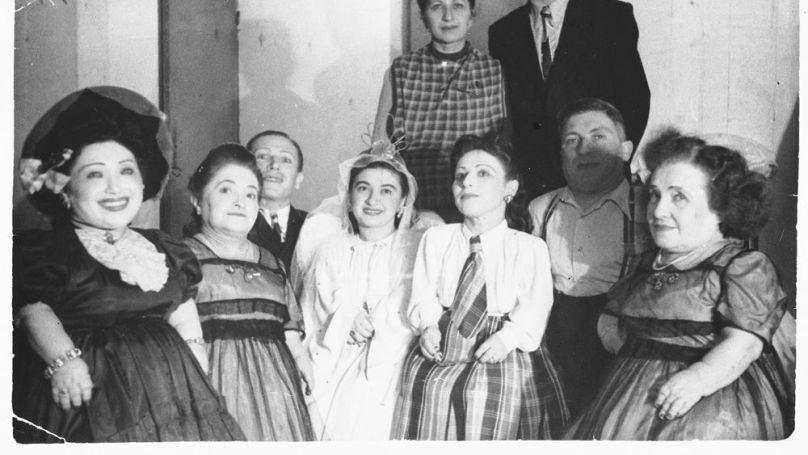 The Ovitz family from Romania