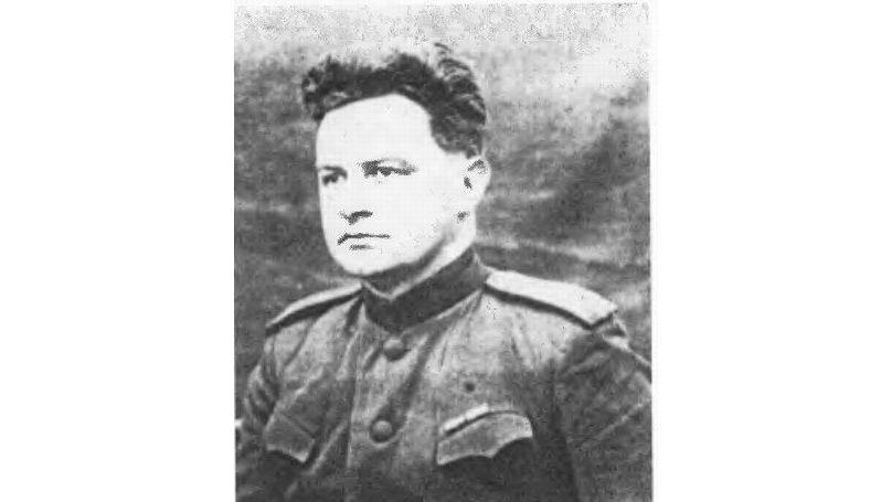 Nikolay Zorya at the front