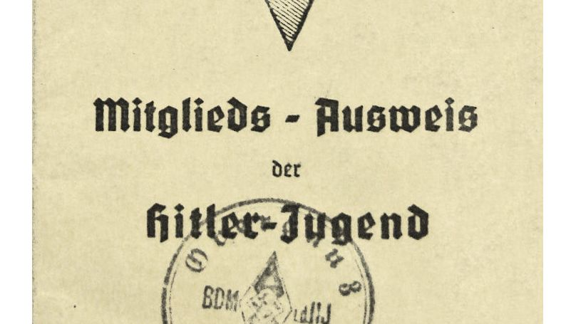 Hitler Youth Identity Card