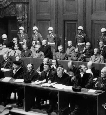 Nuremberg trial, 1945