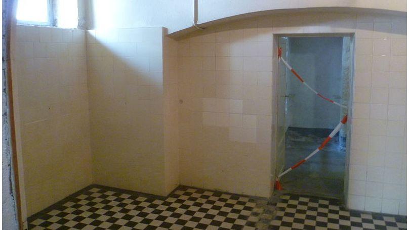 Gas chamber in Hadamar hospital
