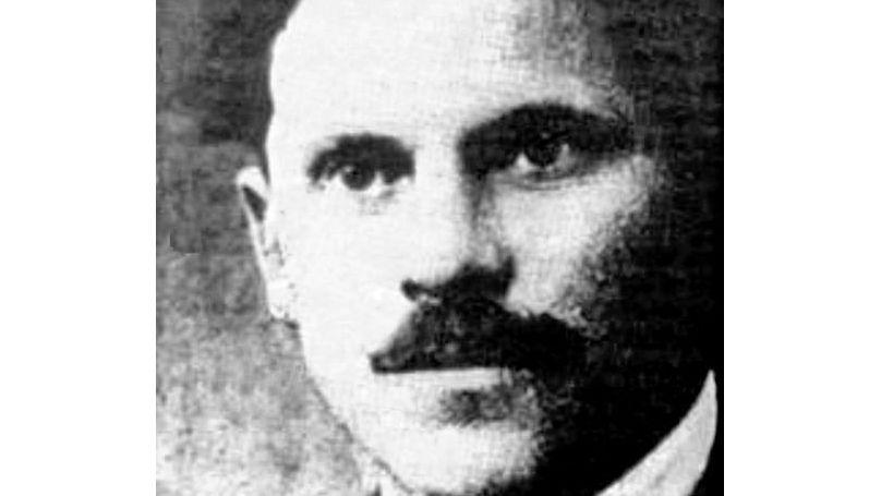 Jewish anarchist Sholom Schwartzbard (1886 – 1938). Assassin Of Ukrainian politician Symon Petliura.