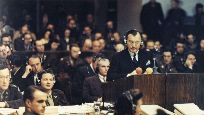 Robert H. Jackson, Chief U.S. Prosecutor at the International Military Tribunal in Nuremberg, Germany, 1945–46