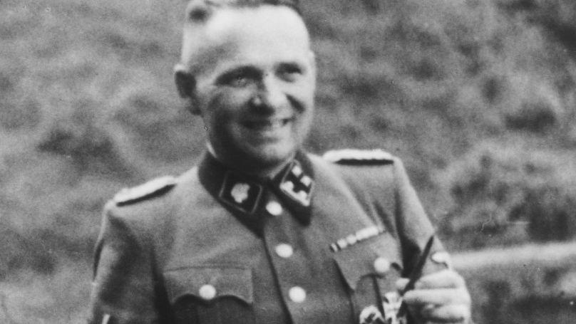 Rudolf Höss, commandant du camp de concentration d'Auschwitz-Birkenau du 4 mai 1940 au 9 novembre 1943.