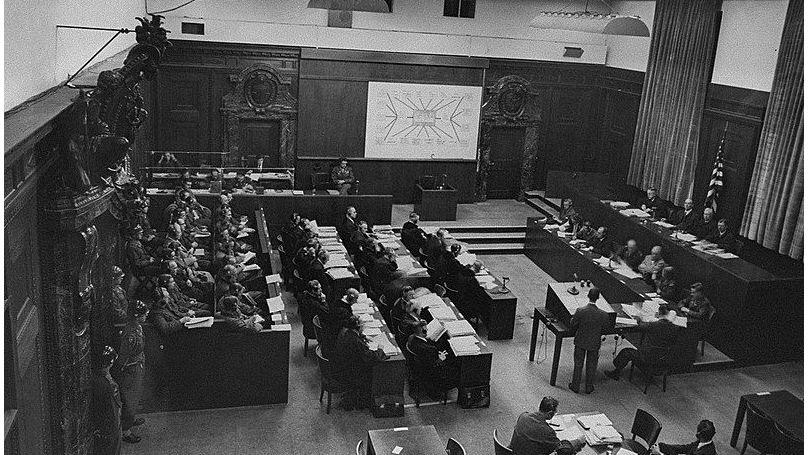 The Doctors' trial in Nuremberg