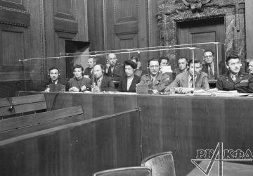 Dolmetscher bei den Nürnberger Prozessen