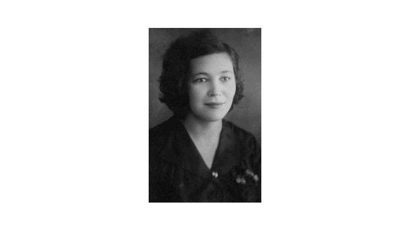 Soviet translator Tatiana Ruzskaya.