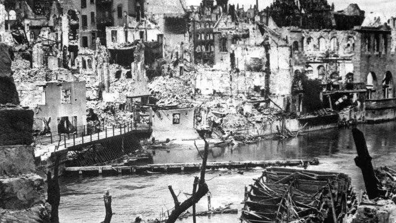 Nuremberg, 1945.