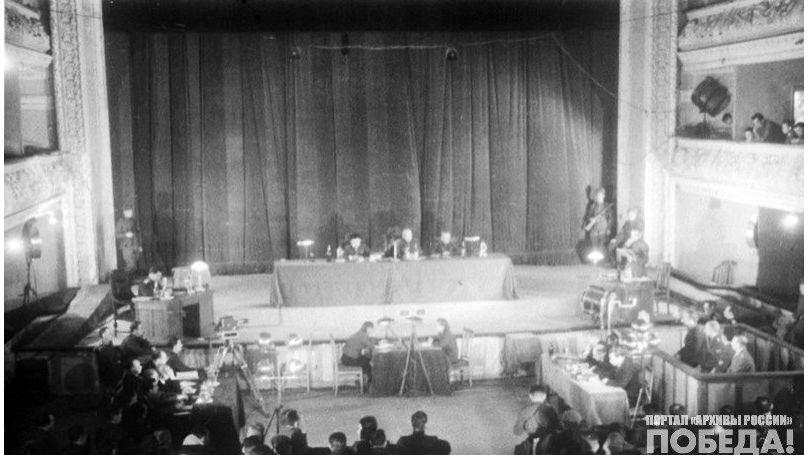 The Kharkov Trial (15-18 December, 1943).