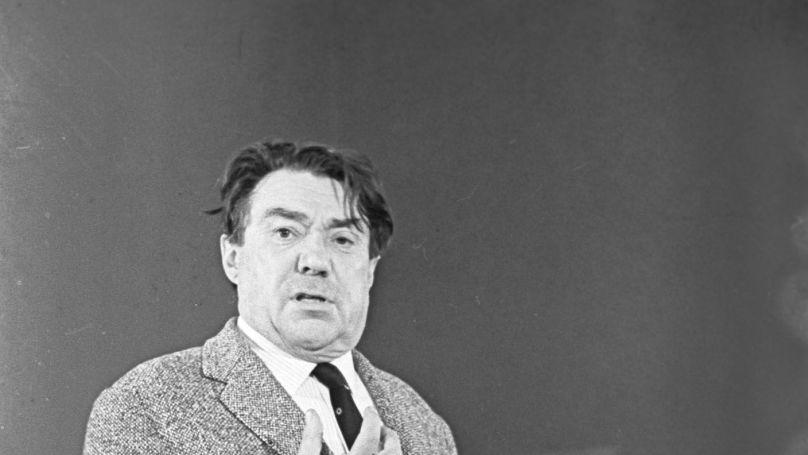Soviet writer Boris Polevoy.