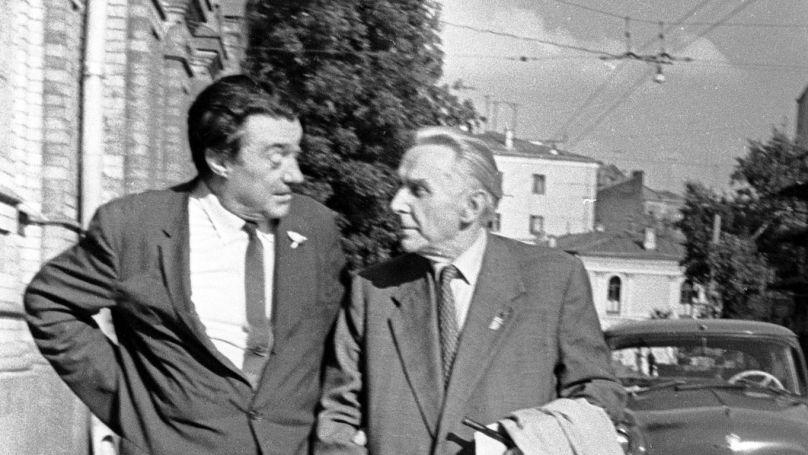 Konstantin Fedin and Boris Polevoy.